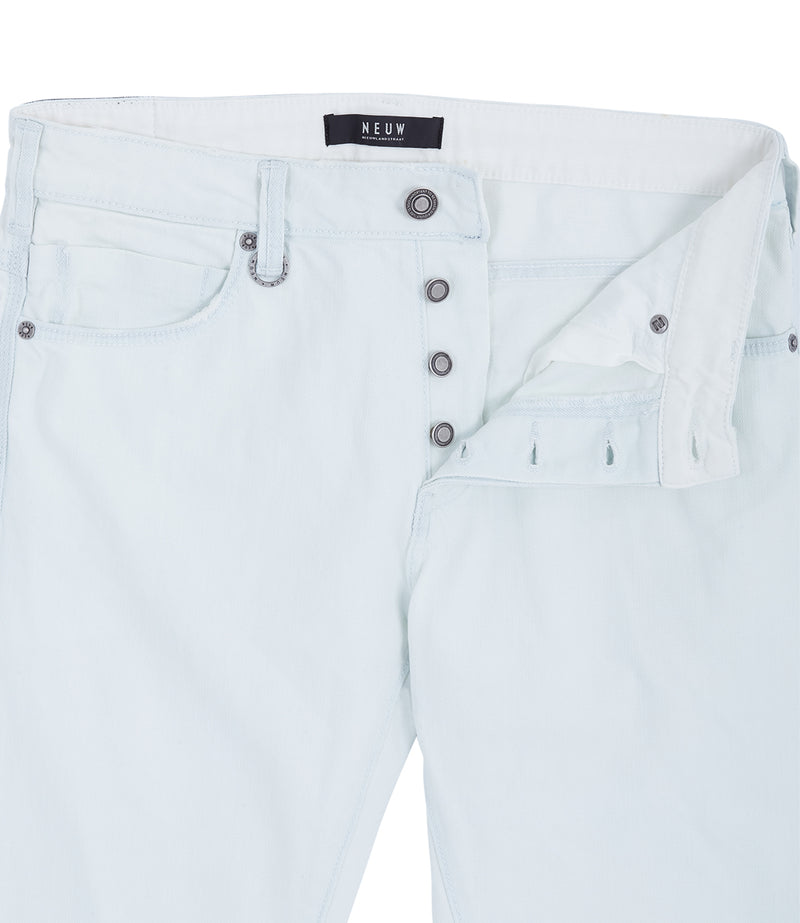 NEUW Lou Slim Communion White