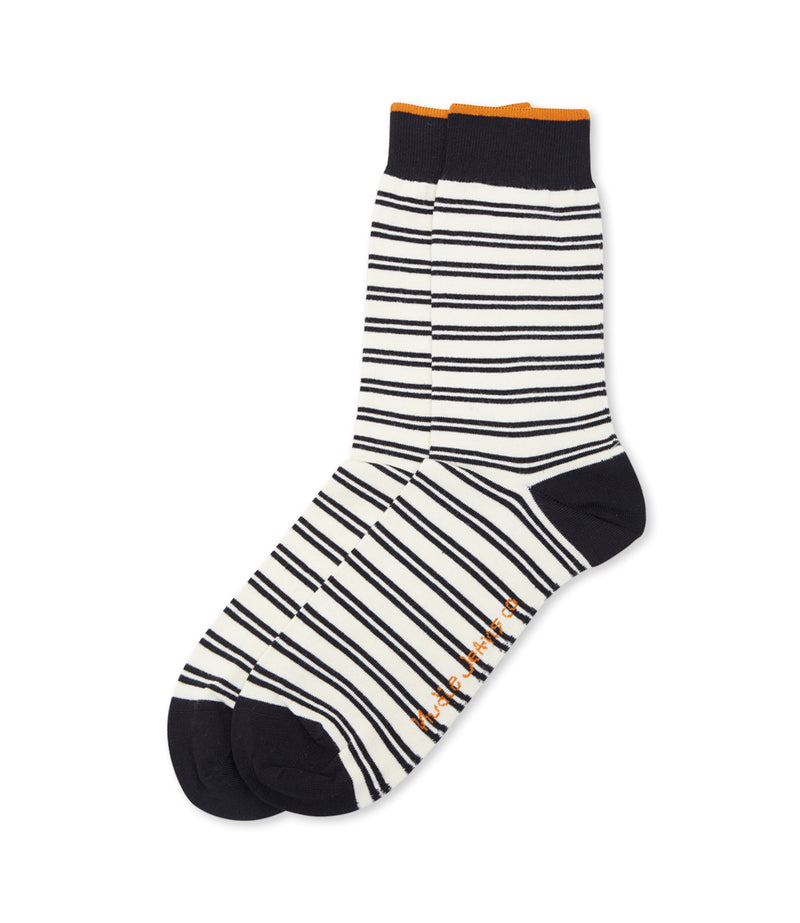 Nudie Olsson Double Stripe Socks