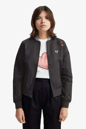 Fred Perry Amy Heart Bomber
