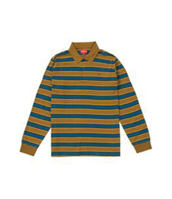 Supreme Striped L/S Polo
