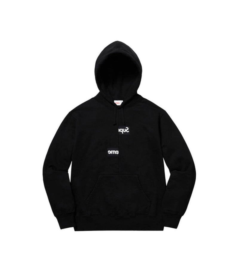 SUPREME Comme des Garcons Shirt Split Box Logo Hooded Sweatshirt