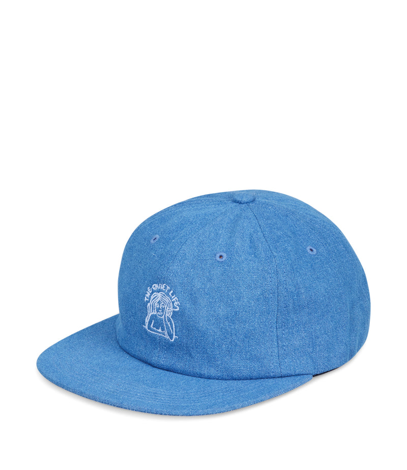 Smoking Girl Polo Hat