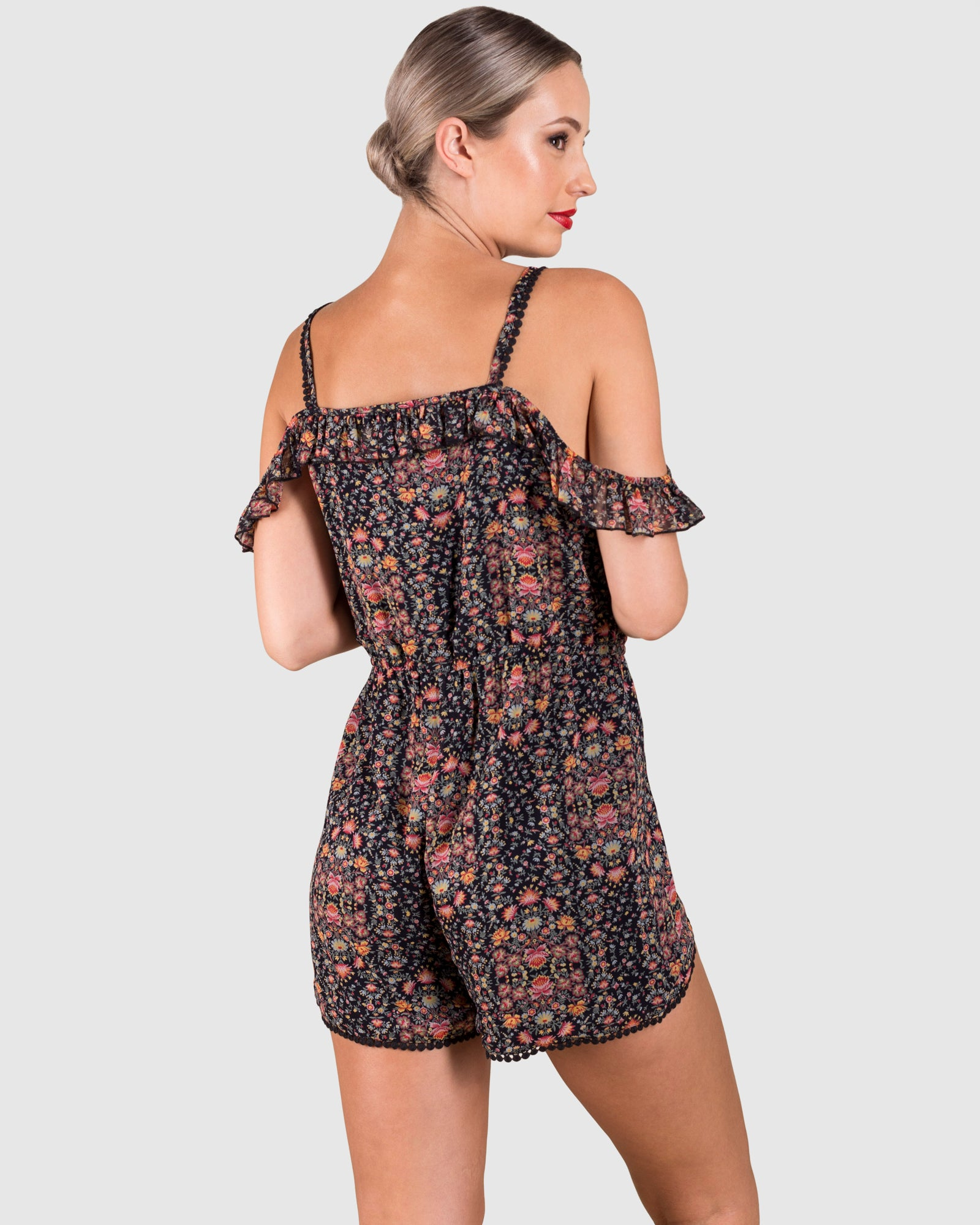THE FLORAL PRINTED PLAYSUIT