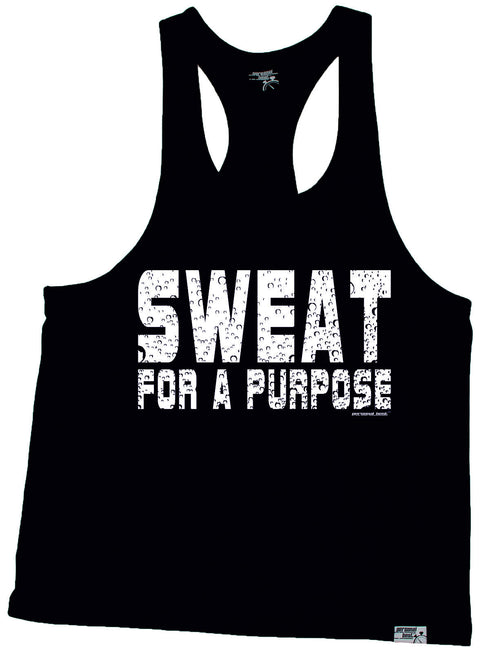 Personal Best Sweat For A Purpose Running Men's Tank Top
