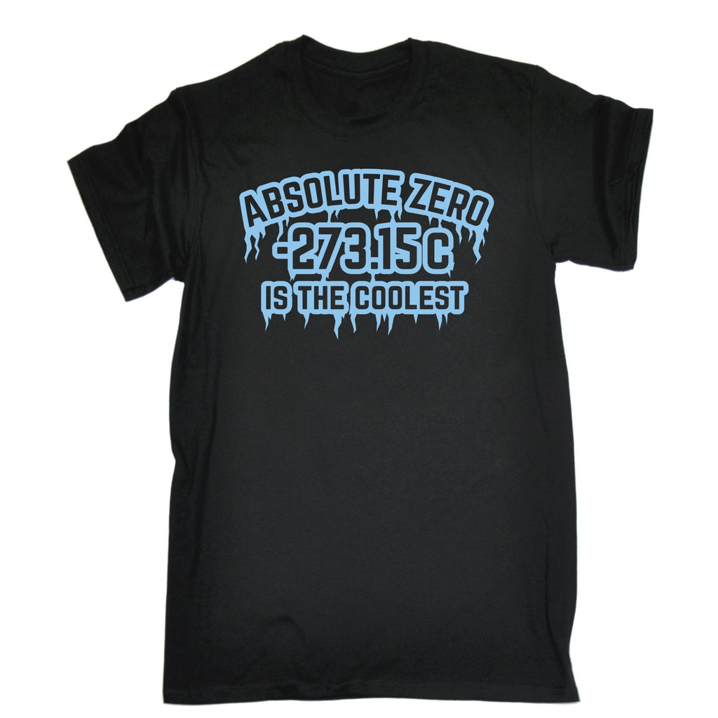 123t USA Men's Absolute Zero Is The Coolest Funny T-Shirt