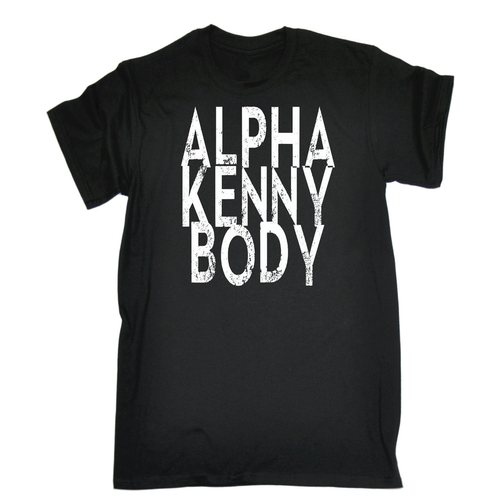 123t USA Men's Alpha Kenny Body Funny T-Shirt