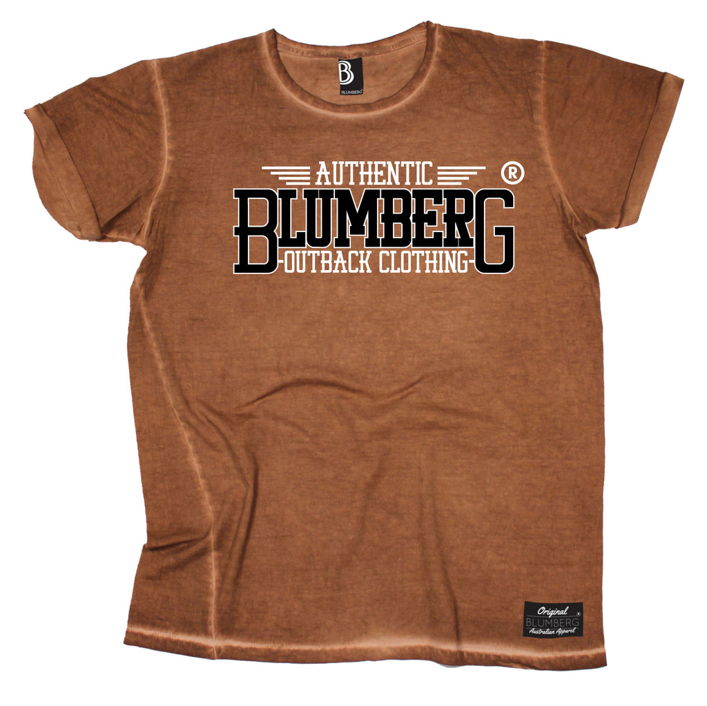 Blumberg Men's Authentic Blumberg Outback Clothing Vintage T-Shirt