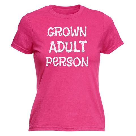 123t USA Women's Grown Adult Person Funny T-Shirt