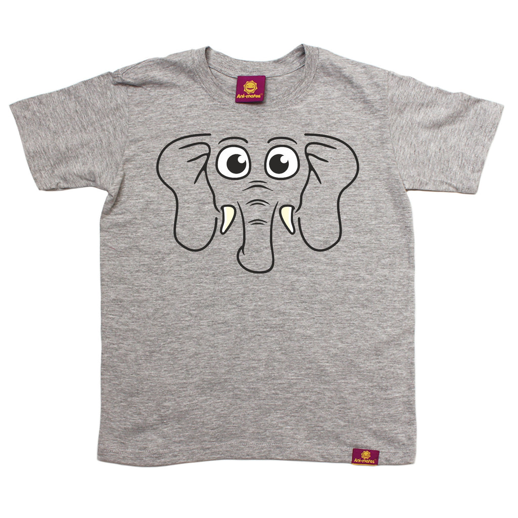Ani-Mates Kids Elephant Animals T-Shirt