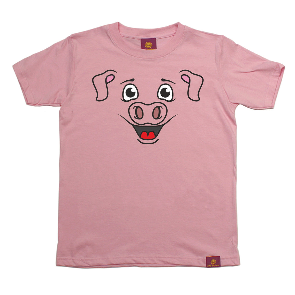 Ani-Mates Kids Piggy Animals T-Shirt