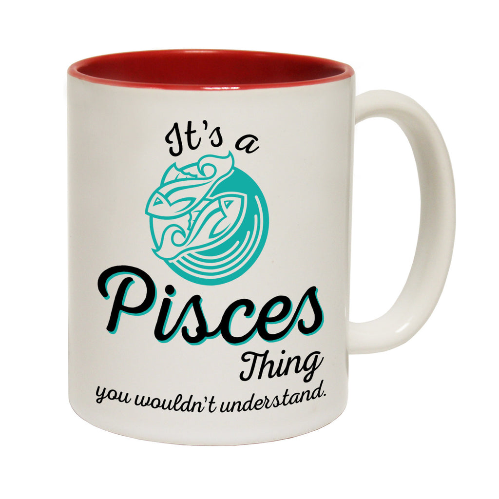 123t USA It's A Pisces thing Starsign Funny Mug