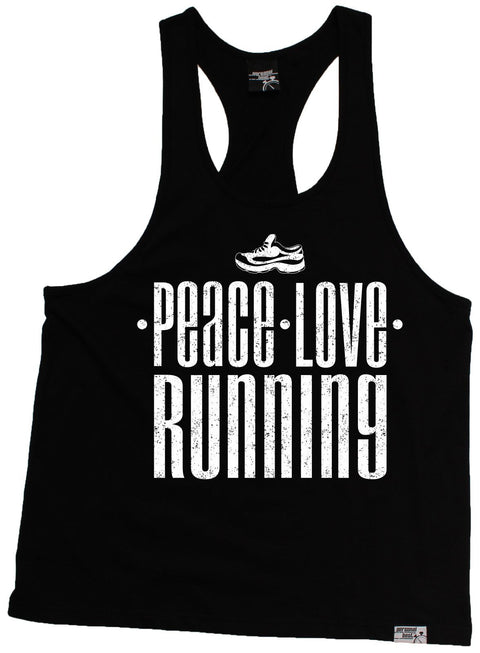 Personal Best Peace Love Running Men's Tank Top