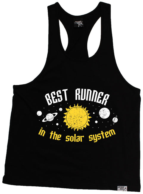 Personal Best Best Runner In The Solar System Running Men's Tank Top