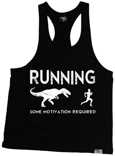 Personal Best Running Some Motivation Required Men's Tank Top