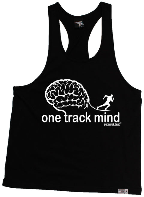 Personal Best One Track Mind Running Men's Tank Top