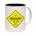 Out Of Bounds Warning ... Talking About Golf Funny Mug