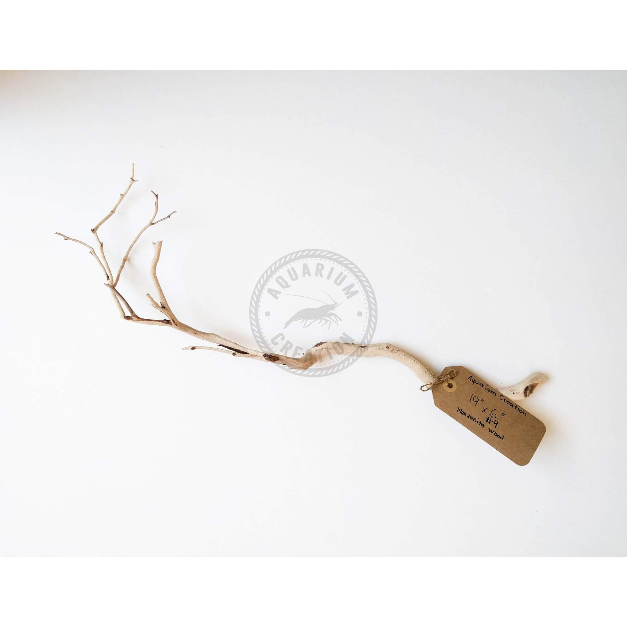 Nano Series Manzanita Driftwood - Piece #4 - Woods, Leaves, Natural Products - Aquarium Creation