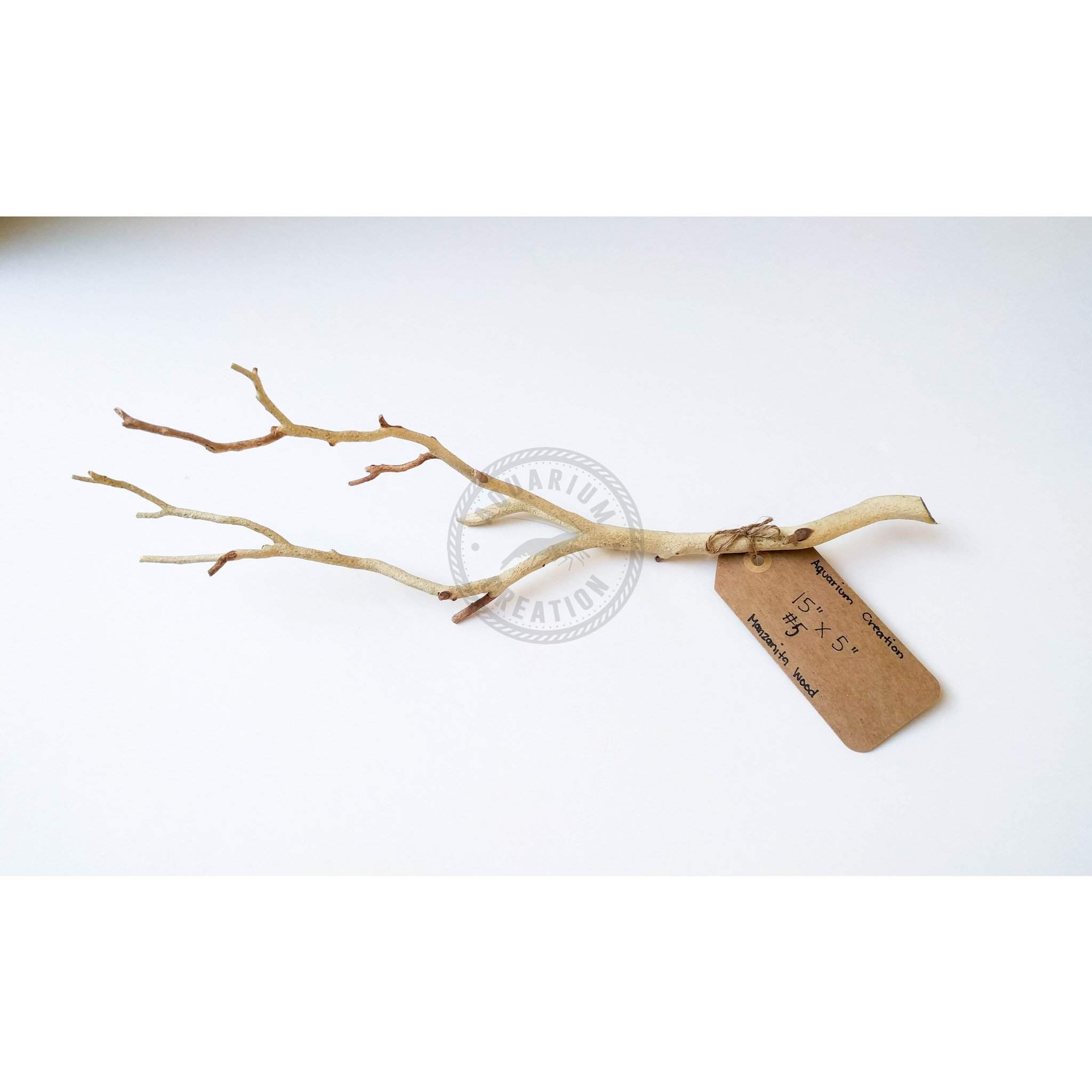 Nano Series Manzanita Driftwood - Piece #5 - Woods, Leaves, Natural Products - Aquarium Creation