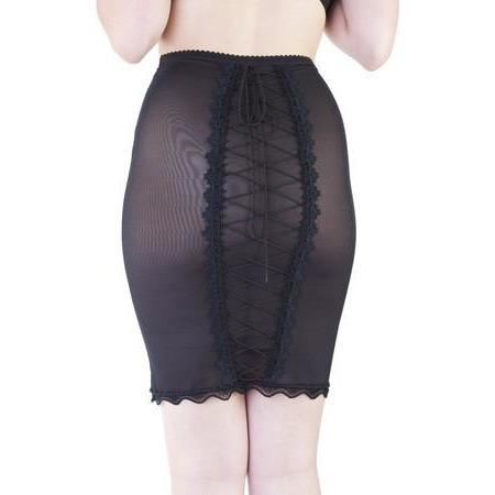 Bettie Page Lingerie Skirt - XL Only, Lingerie, Playful Promises - Passionate Jade