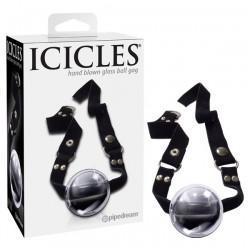 Glass Ball Gag - Icicles #65, BDSM, Icicles - Passionate Jade