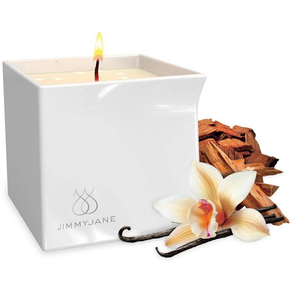 JimmyJane Afterglow Massage Candle Vanilla Sandalwood, Candle, JimmyJane - Passionate Jade