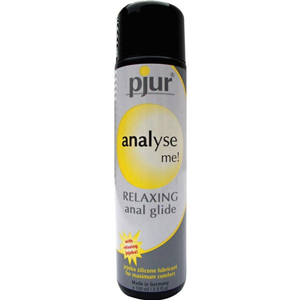 pjur Analyse Me Relaxing Anal Glide with Jojoba 250 ml, Lubricants, pjur - Passionate Jade