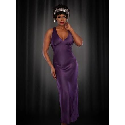 Plum Leonie Gown, Lingerie, Kiss Me Deadly - Passionate Jade