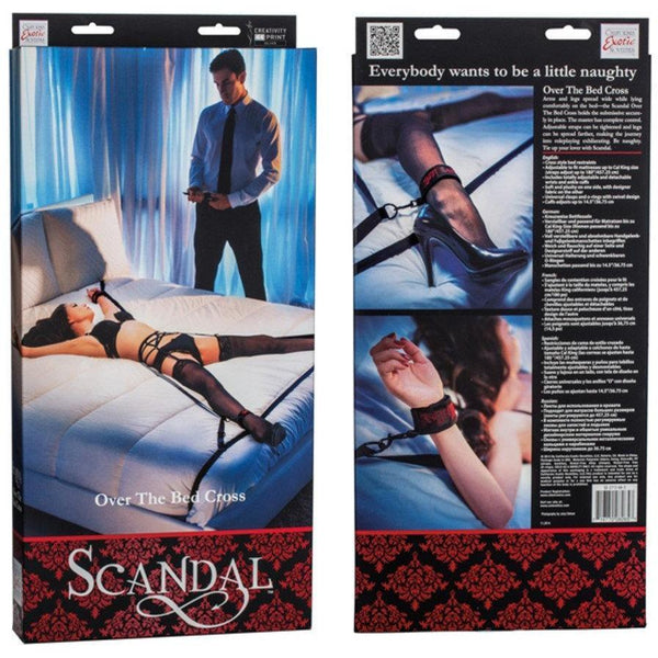 Scandal Over the Bed Cross, BDSM, Scandal - Passionate Jade
