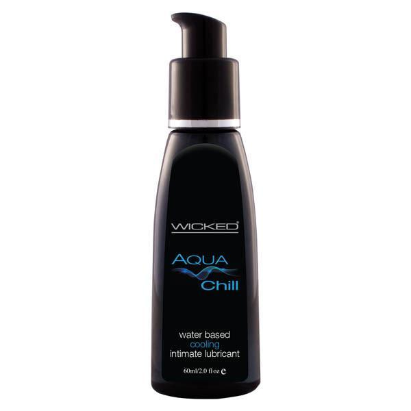 Wicked Aqua Chill 60ml, Lubricants, Wicked - Passionate Jade