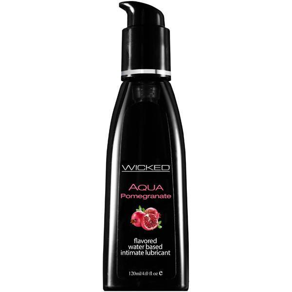 Wicked Aqua Pomegranate 120ml, Lubricants, Wicked - Passionate Jade