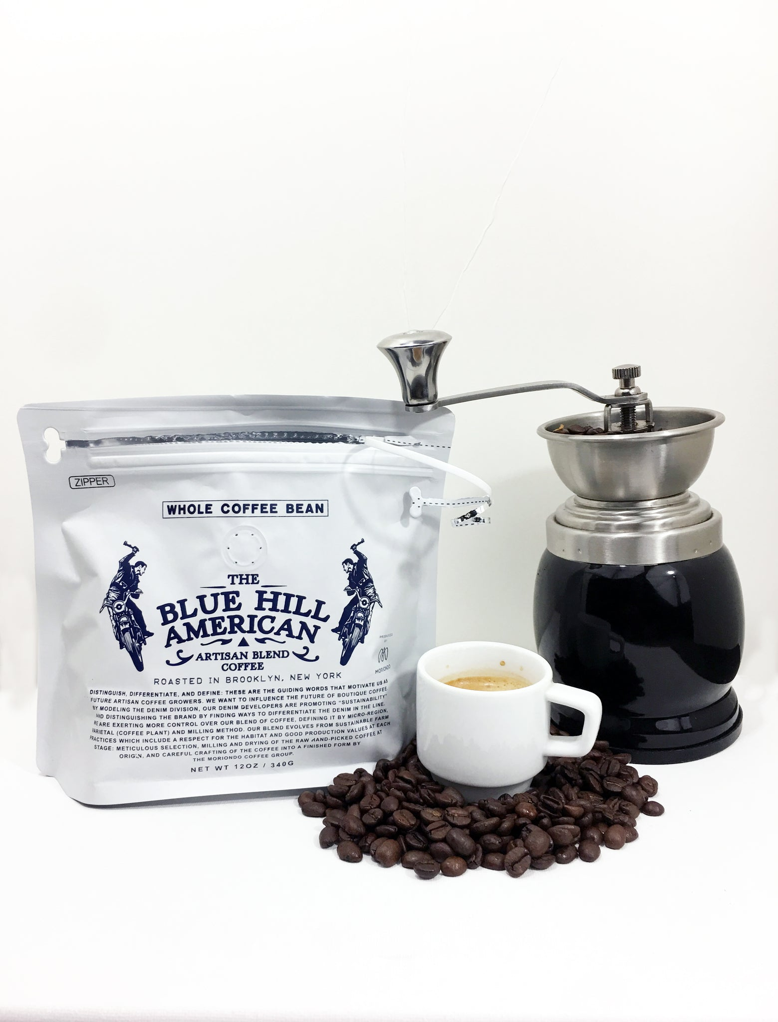 The Blue Hill American Artisan Blend Coffee - The Blue Hill American Denim Company.