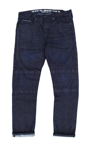 Men's Slim Fit Dark Wash Selvedge Denim Jeans