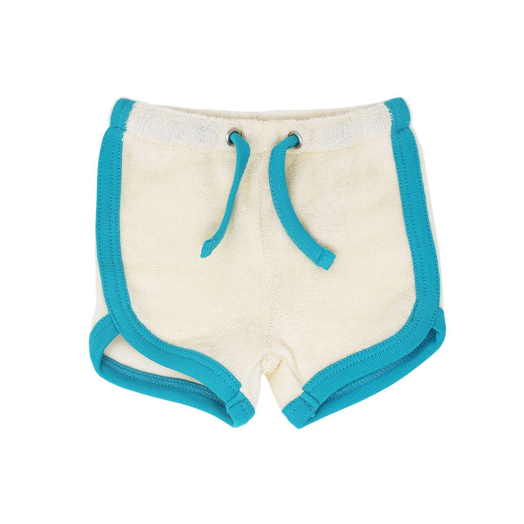 Organic Terry Cloth Track Shorts