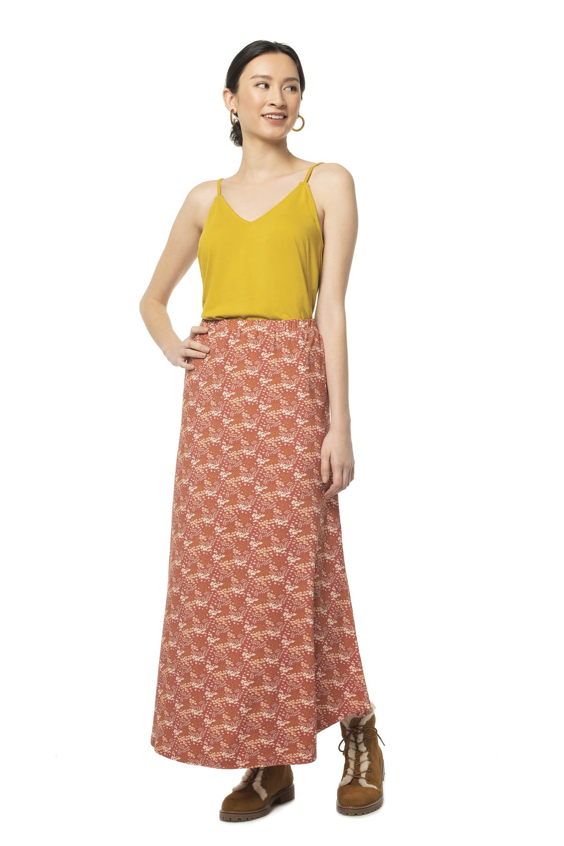 Floral Glastonbury Maxi Skirt