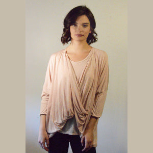 Twist Front Top/Shrug Modal