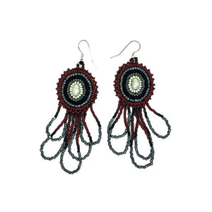 Beaded Earrings-Freshwater Pearl
