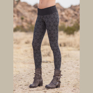 Spectrum Leggings- Hexa Print
