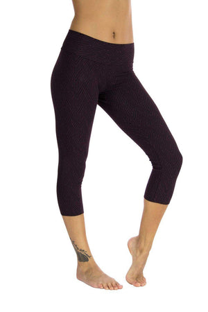 Malaya Yoga Tights -Deco Arrow Print