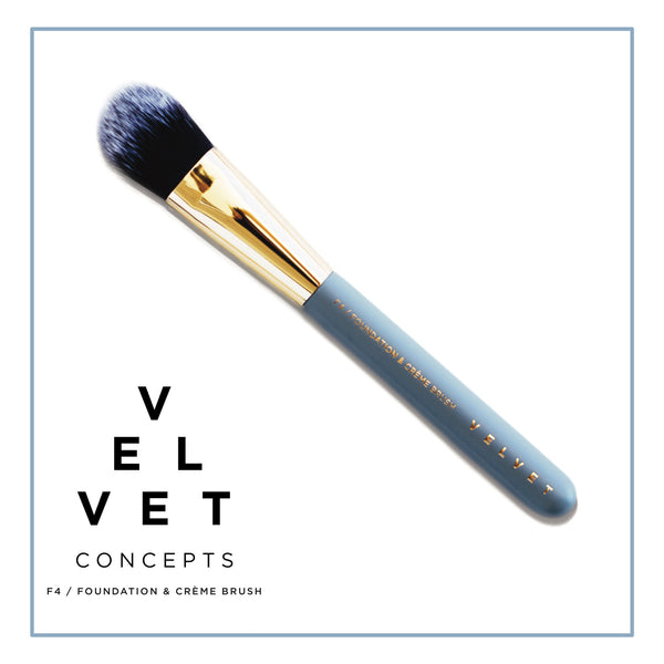 Velvet Concepts F4 Foundation & Creme Brush