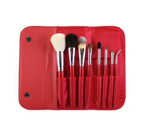 Moprhe Set 700 - 8 Piece Candy Apply Red Set