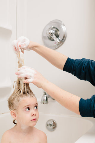 5 Bathtime Bonding Ideas