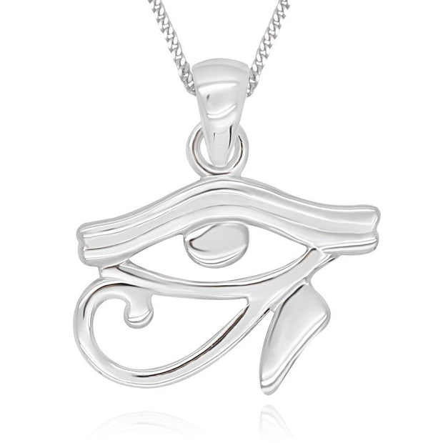 Eye of Ra Necklace// Sterling Silver