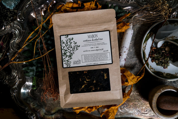 Mabon Tea in a 2oz bag