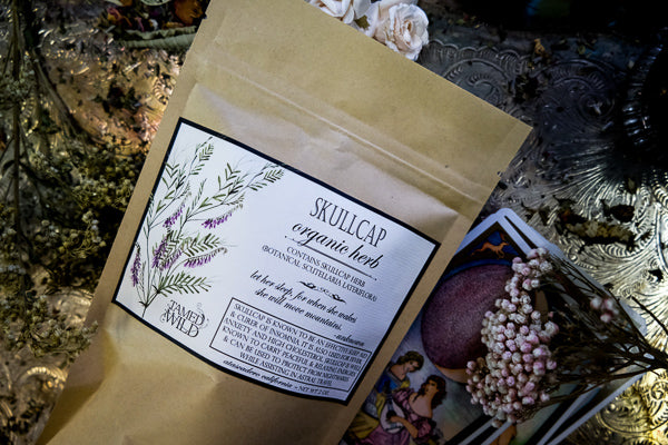 2oz Bag of Skullcap
