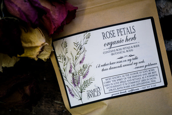 2oz Bag of Rose Petals