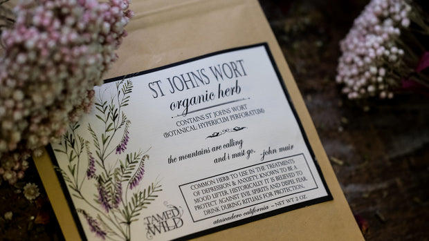 2 oz bag of St. Johns Wort.