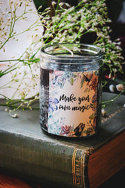Make Your Own Magic Crystal Candle