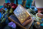 Celestial Brass Inlay Box