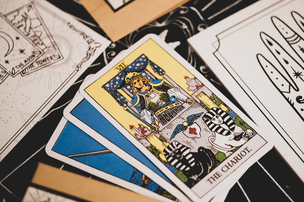 The Rider-Waite Tarot Deck // Playing card size