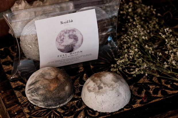 Full Moon Bath Bomb Set // HEXED